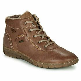 Josef Seibel  STEFFI 53  women's Shoes (High-top Trainers) in Brown