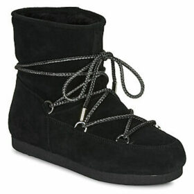 Moon Boot  MOON BOOT FAR SIDE LOW SUEDE  women's Snow boots in Black