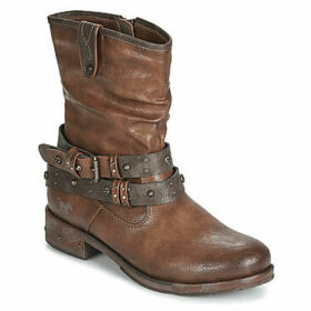 Mustang  1332503-301  women's Mid Boots in Brown