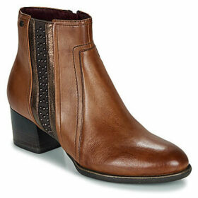 Tamaris  AKARIA  women's Low Ankle Boots in Brown