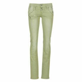 Freeman T.Porter  AMELIE NEW MAGIC COLOR  women's Jeans in Kaki