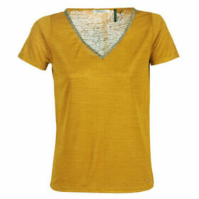 Les Petites Bombes  W19V4001  women's T shirt in Yellow