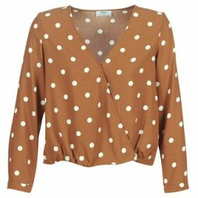 Betty London  LOUISIANA  women's Blouse in Brown