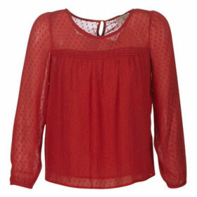 Moony Mood  LIVONE  women's Blouse in Red