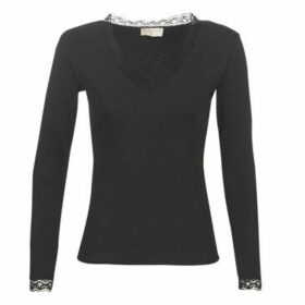 Moony Mood  LOVINE  women's Blouse in Black