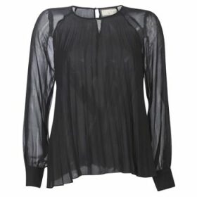 Moony Mood  LAURA  women's Blouse in Black
