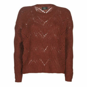 Only  ONLHAVANA  women's Sweater in Bordeaux