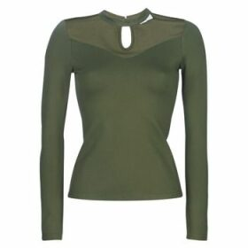 Moony Mood  LAMELI  women's Blouse in Green