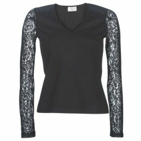 Moony Mood  LANELORE  women's Blouse in Black