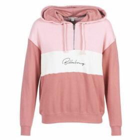 Billabong  PINK MOOD  women's Sweatshirt in Pink
