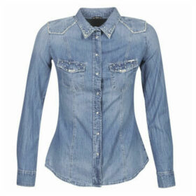 Guess  LALIMA  women's Shirt in Blue