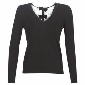 Naf Naf  MITOU LONG NEW  women's Sweater in Black
