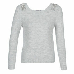 Naf Naf  MBIJOUX  women's Sweater in Grey