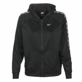 Nike  W NSW HOODIE FZ LOGO TAPE  women's Sweatshirt in Black