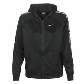 Nike  W NSW HOODIE FZ LOGO TAPE  women's Sweatshirt in Black