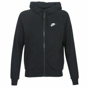 Nike  W NSW ESSNTL HOODIE FZ FLC  women's Sweatshirt in Black