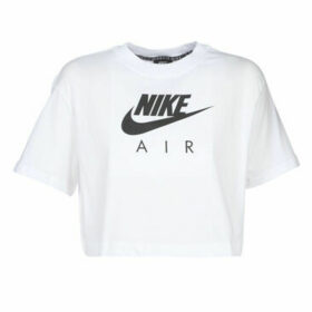 Nike  W NSW AIR TOP SS  women's T shirt in White