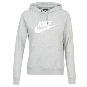 Nike  W NSW ESSNTL HOODIE PO  HBR  women's Sweatshirt in Grey