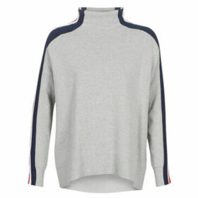Tommy Hilfiger  MAISY MOCK-NK SWTR  women's Sweater in Grey