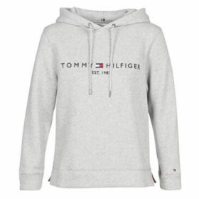 Tommy Hilfiger  TH ESS HILFIGER HOODIE LS  women's Sweatshirt in Grey