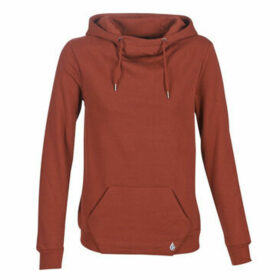 Volcom  WALK ON BY HIGH NECK  women's Sweatshirt in Brown