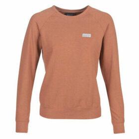 Patagonia  W'S PASTEL P-6 LABEL AHNYA CREW SWEATSHIRT  women's Sweatshirt in Orange