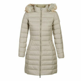 Tommy Jeans  TJW ESSENTIAL HOODED DOWN COAT  women's Jacket in Beige