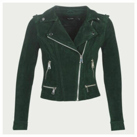 Vero Moda  VMROYCE  women's Leather jacket in Green