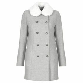 Naf Naf  AROSA M1  women's Coat in Grey