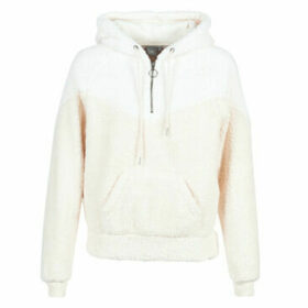 Rip Curl  ISLAND HOODED POLAR FLEECE  women's Fleece jacket in Beige