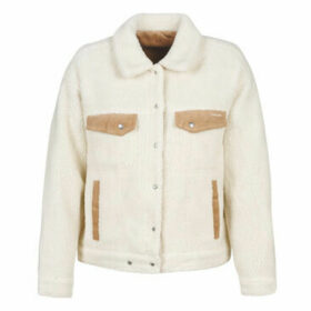 Volcom  WOODSTONE  women's Denim jacket in Brown