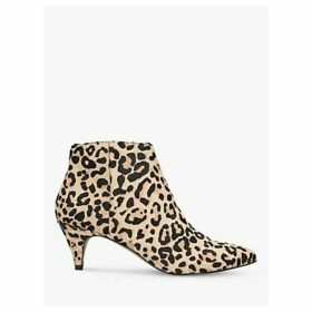 Steve Madden Lucinda Leopard Print Ankle Boots, Brown