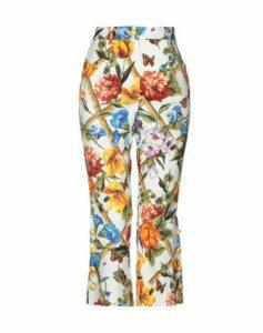 DOLCE & GABBANA TROUSERS 3/4-length trousers Women on YOOX.COM