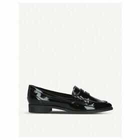 Urawen patent loafers