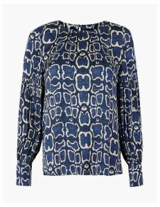 M&S Collection Snake Print Blouse