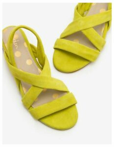 Ava Espadrille Sandals Yellow Women Boden, Yellow