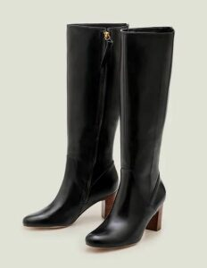 Colbeck Knee High Boots Black Women Boden, Black