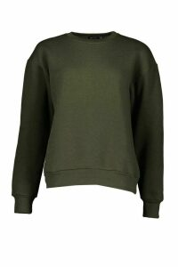 Womens Oversized Sweatshirt - green - 10, Green