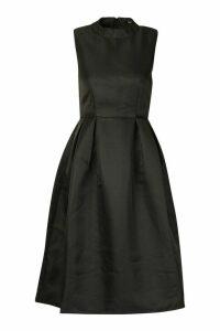 Womens Boutique High Neck Prom Dress - black - 18, Black