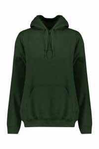 Womens Oversized Hoodie - Green - XL, Green