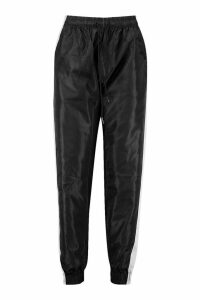 Womens Reflective Panel Shell Joggers - black - 12, Black