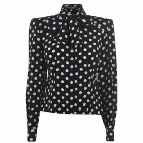 Dolce and Gabbana Polka Dot Blouse
