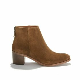 Louise Suede Ankle Boots