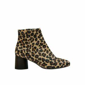 Camden Leopard Boots with Heel
