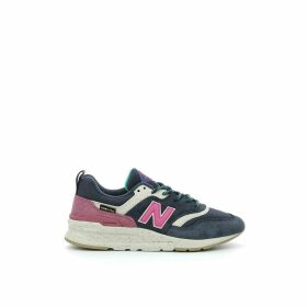 997 Leather Mix Trainers