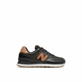 574 Leather Trainers