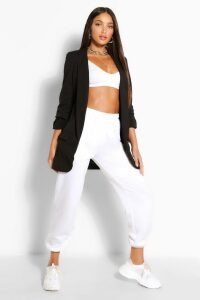 Womens Tall Ruched Sleeve Blazer - Black - 10, Black
