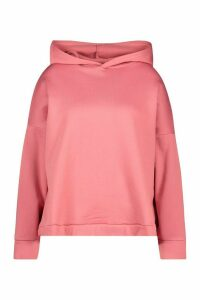 Womens Plus Oversized Supersoft Hoody - pink - 26, Pink