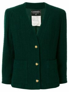 Chanel Pre-Owned 1993's Long sleeve jacket - Green