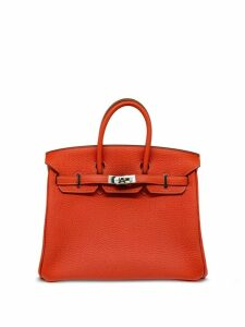 Hermès 2012 pre-owned Birkin 25 tote - ORANGE
